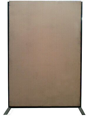 Freestanding Office Dividing Panels 1750mm (H) x 1200mm (W) x 60mm thick, 2 off
