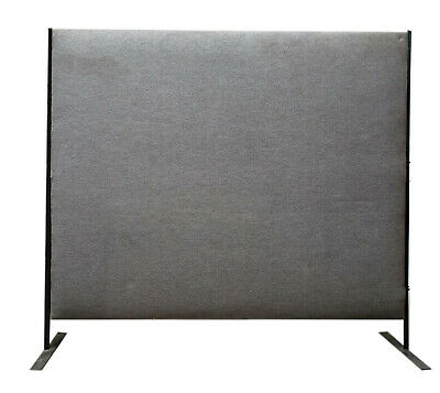 Freestanding Office Dividing Panels 1800mm (H) x 1800mm (W) x 80mm thick, 2off