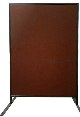 Freestanding Office Dividing Panels 1650mm (H) x 1200mm (W) x 25mm thick, 3off