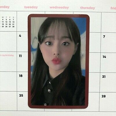 MONTHLY GIRL LOONA Chuu Official Limited Photocard - # HASH MMT Exclusive