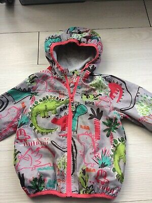 Boys/girls Lightweight Jacket + Hood 2-3 Years Next Animals FREE DELIVERY