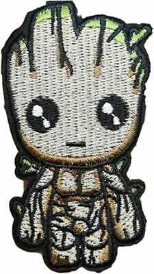 """Guardians Of The Galaxy Baby Groot Figure Embr Iron//Sewn On 4/"""" Patch"""