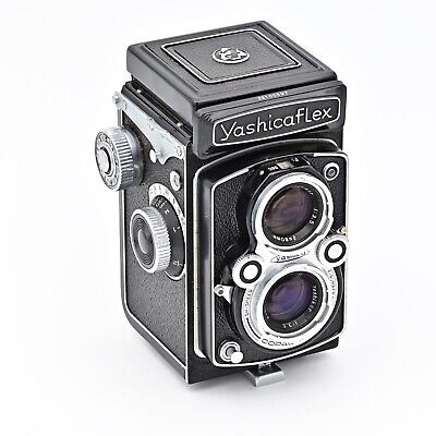 YashicaFlex New Model B (Yashica D) Twin Lens TLR 120 6x6 Film Camera. ***MINT**