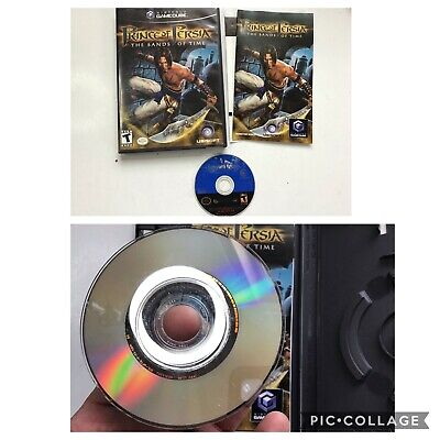 Prince of Persia The Sands of Time Nintendo Gamecube Game EXCELLENT CIB!