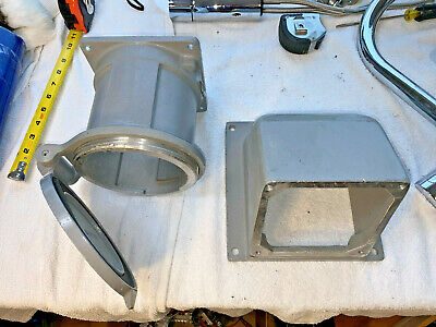 T&B Russellstoll Df2504Frab0 Receptacle Assembly Angle Housing & Back Box