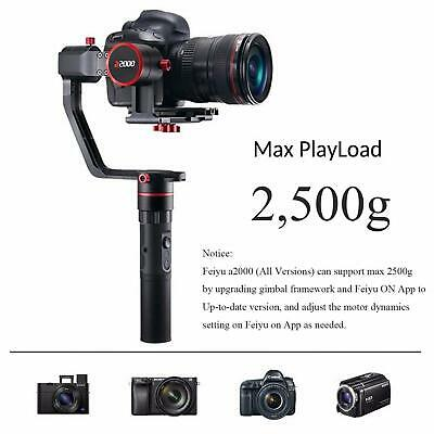 A2000 3 Axis Camera Gimbal Stabilizer for Canon 5D IV III,SONY A7 A7R A7S Sale!