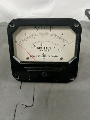 Hewlett Packard RMS Volts/Decibels Meter