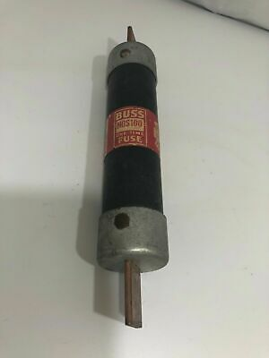 Bussman Buss One Time Fuse 100 Amp Model NOS 100