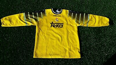 Camiseta Portero Real Madrid Temp 97/98 kelme talla XL Rare goalkeeper vintage⭐