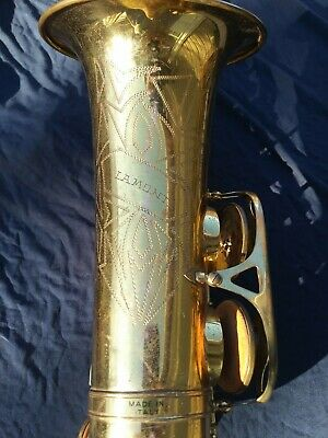 La Monte LaMonte Alto Saxophone SOLD FOR  parts or repair AS IS