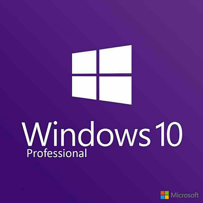Genuine Windows 10 Pro Professional Key 32 / 64Bit Activation Code License Key