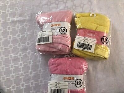 Gymboree Lot of 3 Girls Winter Soft Corduroy Leggings, Size 12, NWT
