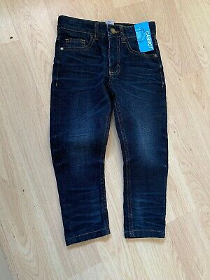 Next Boys Carrot Fit Blue Jeans Age 4 Years Bnwt