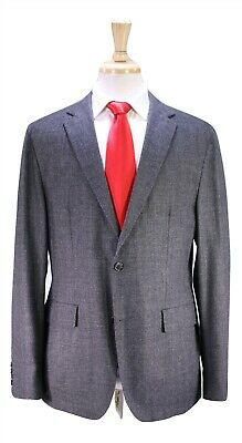 HUGO BOSS Very Recent Miller/Shade Gray/Black Woven Unstructured 2-Btn Suit 40R