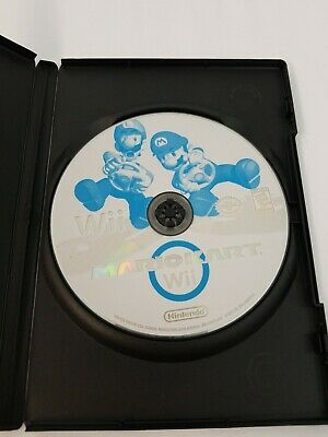 Mario Kart Nintendo Wii Video Game DISC ONLY *Tested* Mario Luigi Princess Wario