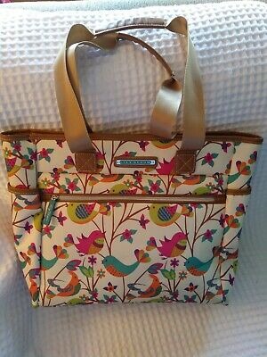 Lily Bloom Travel Tote Giraffe Park Luggage Large Overnight Bag ECO NWT