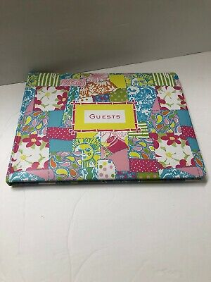 LILLY PULITZER Guest Book 44 Pages
