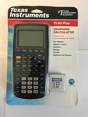 Texas Instruments TI-83 Plus Graphing Calculator-Free Shipping-