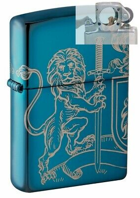 Zippo 49126 Medieval Coat of Arms 2 Sided Lighter with PIPE INSERT PL