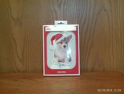 Welsh Corgi Christmas Scarf Ornament Pembroke