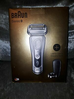 Braun Series 9 9359ps Wet&Dry Electric Shaver New boxed sealed silver..