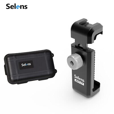 Selens SYT-77 Metal Phone Clamp Clip Holder Mount for Mini Table Tripod Monopod