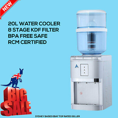 Aimex Water ® Cooler BenchTop Dispenser Hot Cold 8 Stage Filter Purifier Jug 20L