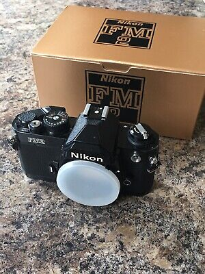 Nikon FM2 35mm SLR Film Camera Body Only Belonged To Lonely Planet Photographer