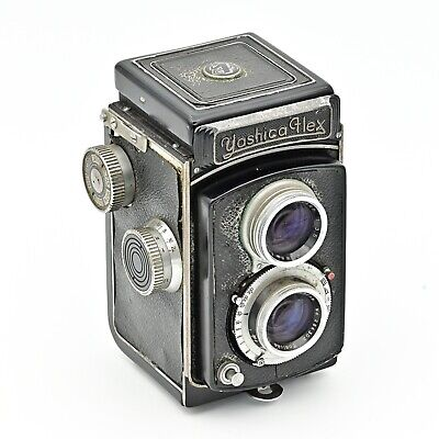 YashicaFlex 6x6 66 120 TLR Twin Lens Reflex Tomioka Lens **EXTREMELY RARE**
