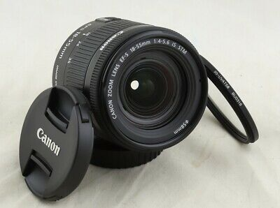Super fast free shipping! Near mint! Canon EF-S 18-55mm f/4-5.6 IS STM Lens