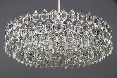 Bakalowits Chandelier Silver Plated, circa 1960s