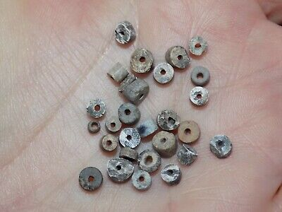 Pre-Columbian Lot of Tiny Clay Beads