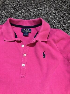 Girls Designer Ralph Lauren Polo Top Size M 8-10 Years