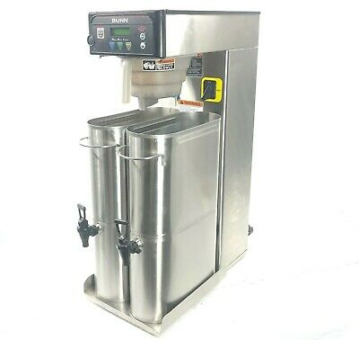 BUNN ITB Commercial Iced Tea Brewer Infusion Dispenser Dual 41400.0500