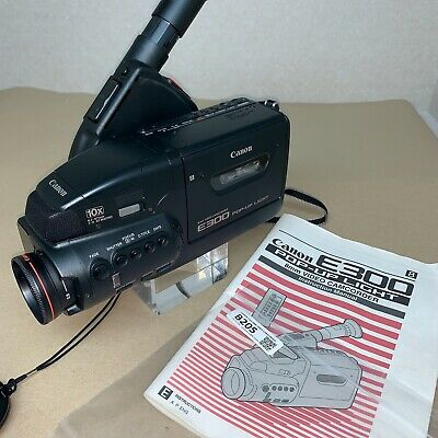 CANON E300 8MM Video Camera Camcorder Spares Repairs (Powers up!) B205