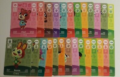 Animal Crossing Amiibo Cards - Choose Your Own (Never Scanned) Series 1 2 3 4