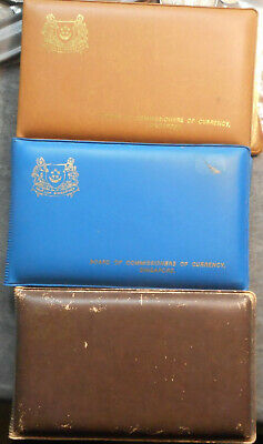 Singapore 1981 1982 1983 Uncirculated Mint Coin sets (2)