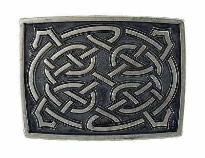 Celtic Viking Medieval Belt Buckle Clasp Celtic Rectangle