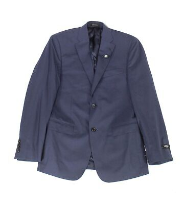 Lauren by Ralph Lauren Mens Blazer Blue Size 42L Two Button Wool $450 114