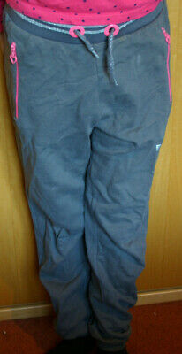 Girls Grey Jogging botton Age 12-13