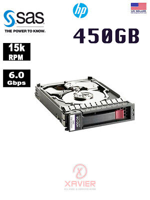 HP 450GB 15K RPM SAS 3.5 HD Mfg # DF0450BAERH