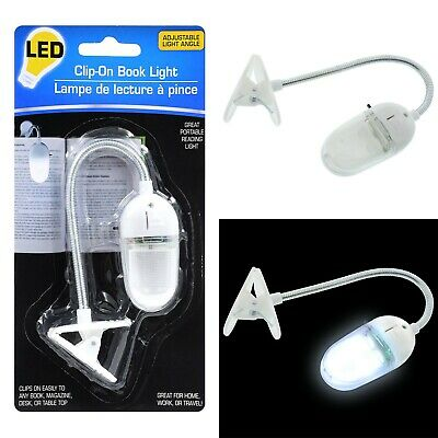 Book Light LED Clip-On Book Light with Adjustable Light Angle Booklight