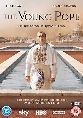 The Young Pope [DVD], Good DVD, James Cromwell, Diane Keaton, Jude Law, Paolo So