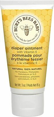 4x Burt's Bees Baby 100% Natural Diaper Rash Ointment with Vitamin E (Pack of 4)