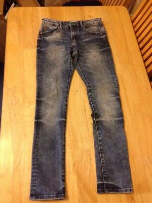 ZARA BOYS  slim fit jeans size 9-10 years - adjustable waist - VGC