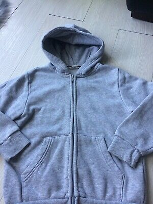 Girls Grey Jacket/hood H&M 6-8 Years FREE DELIVERY