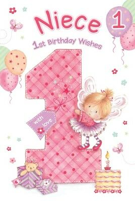 BIRTHDAY CARD FOR A LOVELY NIECE TOP QUALITY 233006