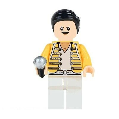 Queen Freddie Mercury - Lego Minifigures Compatible