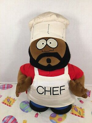 CHEF Isaac Hayes South Park Animated Television Series UK Imported Enamel Pin