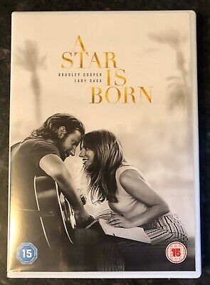 A Star Is Born Dvd 2018 (Lady Gaga-Bradley Cooper) As Good As New Mint Condition